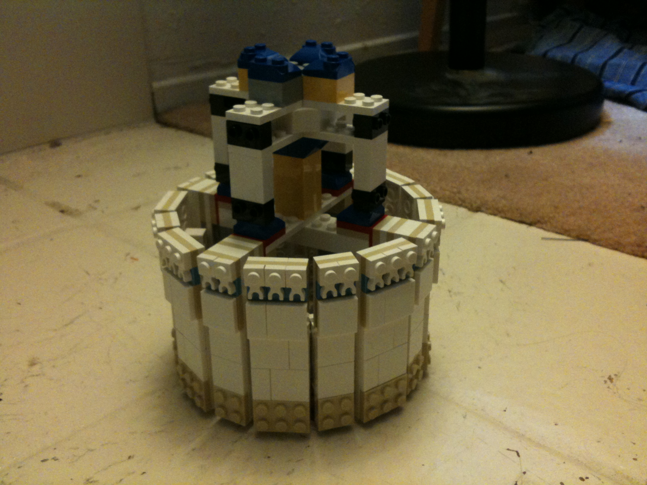 Malvasian Scenes 187 Lego Taj Mahal