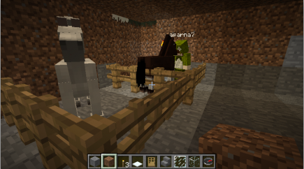 I get a horse, too. :-)