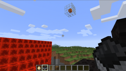 There's another cube in the sky