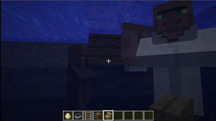 Underwater villagers