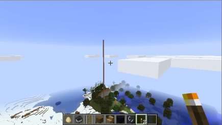 Somebody built a tall pole next to my swamp house